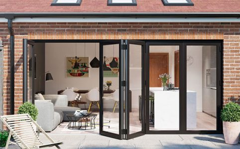 residential Bifold doors in Nottingham