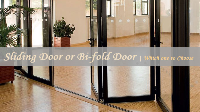 sliding door or bifold door